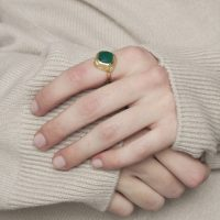 Model Gold and Green Onyx