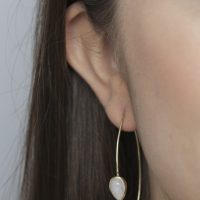Model Gold and Moonstone